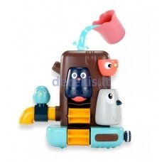 Vonios žaislas vaikams - paukščiukų namelis