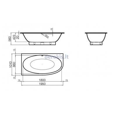 Vonia Vispool Gemma 3 (dešinė) 2