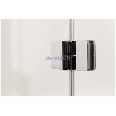 Vonios sienelė Baltijos Brasta Berta (dydį ir stiklo spalvą galima pasirinkti) 2