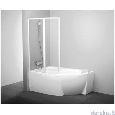 Vonios sienelė Ravak VSK2 Rosa 150 L balta+plastikas Rain, 76L8010041