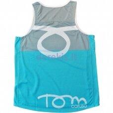 Vyr. Marškinėliai Tom Caruso - Atlanta Grey Azure S