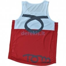 Vyr. Marškinėliai Tom Caruso - Atlanta White Red M
