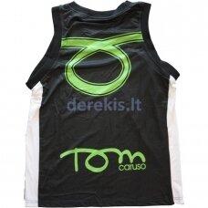 Vyr. Marškinėliai Tom Caruso - Dallas Black Yellow XXXL