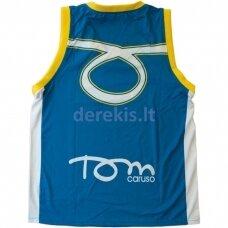 Vyr. Marškinėliai Tom Caruso - Dallas Blue Yellow L
