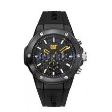 Vyriškas laikrodis CAT Navigo X Multi, Silicone Black 4895221100518