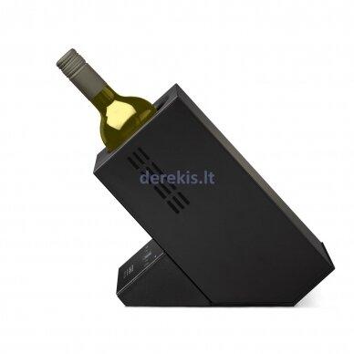 Vyno aušintuvas vienam buteliui CASO WineCase One, juodas 5