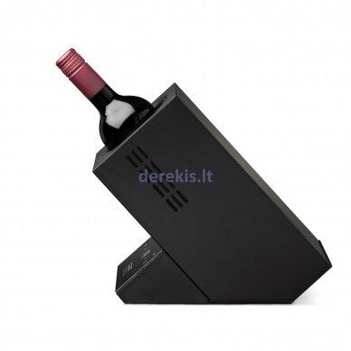 Vyno aušintuvas vienam buteliui CASO WineCase One, juodas 6