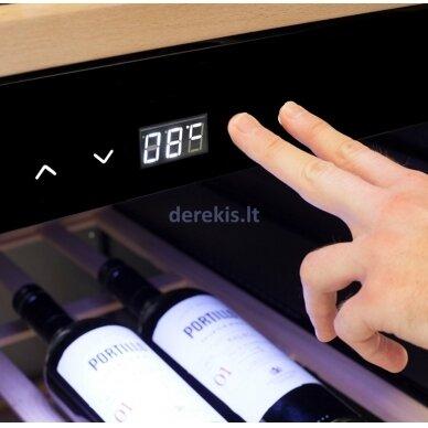 Vyno šaldytuvas CASO Wineexclusive 126 Smart 4