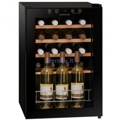 Vyno šaldytuvas Dunavox DXFH-20.62 2