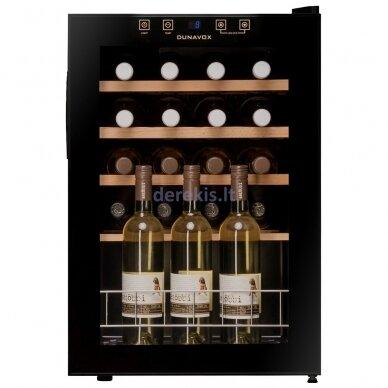 Vyno šaldytuvas Dunavox DXFH-20.62