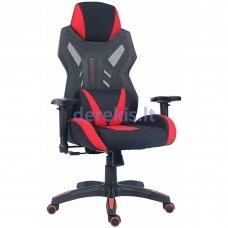 Žaidimų kėdė UNIQUE DYNAMIQ V17 Y-2523, juoda-raudona