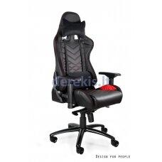 Žaidimų kėdė UNIQUE DYNAMIQ V3 Y-2666, juoda-raudona arba juoda-oranžinė