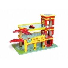 """Žaislas - automobilių garažas """"Dino's Red"""""""