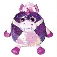 Žaislas - pagalvėlė su žvyneliais Vienaragis Fancy