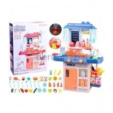 Žaislas - vaikiška virtuvėlė T20101, mėlyna