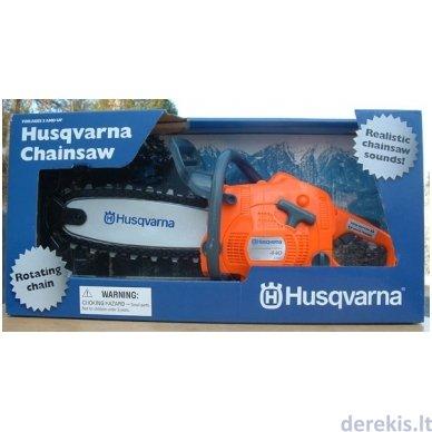 Žaislas - grandininis pjūklas Husqvarna 2