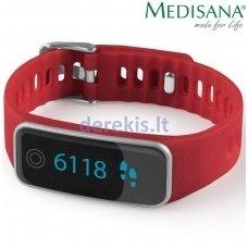 Žingsniamatis ir miego sekiklis Medisana ViFit Touch, red